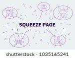 conceptual business... | Shutterstock . vector #1035165241