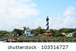 St. Augustine Lighthouse In Th...