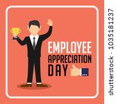 employee appreciation... | Shutterstock .eps vector #1035181237