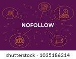 conceptual business... | Shutterstock . vector #1035186214