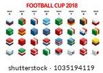 football 2018  europe... | Shutterstock .eps vector #1035194119