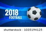 world cup background template.... | Shutterstock .eps vector #1035194125