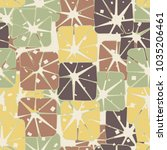 seamless pattern from rounded... | Shutterstock .eps vector #1035206461