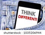 writing text showing think... | Shutterstock . vector #1035206944