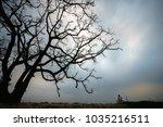 vietnam countryside landscape... | Shutterstock . vector #1035216511