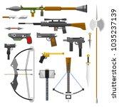Weapons Guns Pistols Submachin...