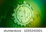 forex candlestick pattern.... | Shutterstock . vector #1035243301