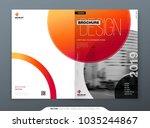brochure template layout design.... | Shutterstock .eps vector #1035244867