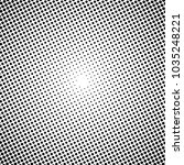 vector halftone circle dotted... | Shutterstock .eps vector #1035248221