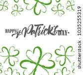 vector illustration  greeting... | Shutterstock .eps vector #1035255319