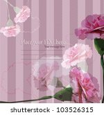 flowers   abstract romantic... | Shutterstock .eps vector #103526315