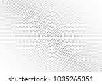 abstract halftone wave dotted... | Shutterstock .eps vector #1035265351