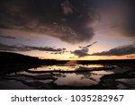 great fountain geyser in lower... | Shutterstock . vector #1035282967