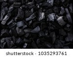 black charcoal background... | Shutterstock . vector #1035293761
