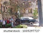 figueres  spain july 17  2017 ...   Shutterstock . vector #1035297727