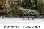 london snow park | Shutterstock . vector #1035299875