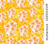 exotic seamless pattern ... | Shutterstock . vector #1035314149