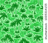 exotic seamless pattern ... | Shutterstock . vector #1035314155