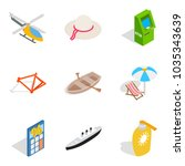 variety of toys icons set....   Shutterstock .eps vector #1035343639