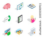 specialists of the enterprise... | Shutterstock .eps vector #1035350911