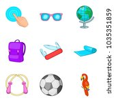 additional processing icons set....   Shutterstock .eps vector #1035351859