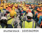 group of construction worker...   Shutterstock . vector #1035363904