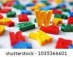 letter w among the letters of...