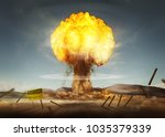 A Nuclear Explosion Creating A...