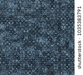 grey and blue seamless texture... | Shutterstock .eps vector #1035383791