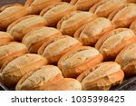 many breads background | Shutterstock . vector #1035398425