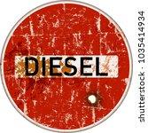 ban on diesel cars in german... | Shutterstock .eps vector #1035414934