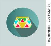 vector illustration. stationery ... | Shutterstock .eps vector #1035422479