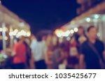 vintage tone blurred defocused... | Shutterstock . vector #1035425677