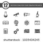 sciences vector icons for your... | Shutterstock .eps vector #1035434245