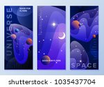 design templates for flyers ... | Shutterstock .eps vector #1035437704