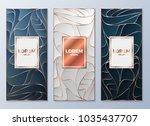 design templates for flyers ... | Shutterstock .eps vector #1035437707