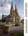 sees  normandy  france   19th... | Shutterstock . vector #1035457609