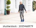good looking middle aged man...   Shutterstock . vector #1035468979