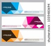 vector design banner... | Shutterstock .eps vector #1035483694