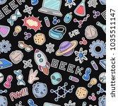 seamless vector background ... | Shutterstock .eps vector #1035511147