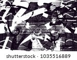 distressed background in black... | Shutterstock .eps vector #1035516889