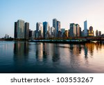 Skyline Of Chicago From The...