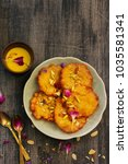 malpua   traditional indian... | Shutterstock . vector #1035581341