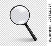 photo realistic vector 3d black ... | Shutterstock .eps vector #1035621319