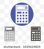 calculator icon vector. savings ...