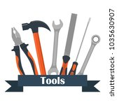 collection of carpentry ...   Shutterstock .eps vector #1035630907