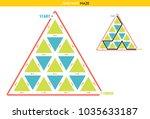 maze for kids   reach the... | Shutterstock . vector #1035633187