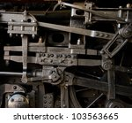 Steam Train Engine Detail...