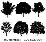 illustration of tree... | Shutterstock . vector #1035637099