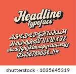 handwritten lettering headline... | Shutterstock .eps vector #1035645319